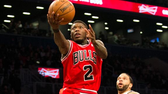 Bulls beat Nets to even playoff series at 1-1