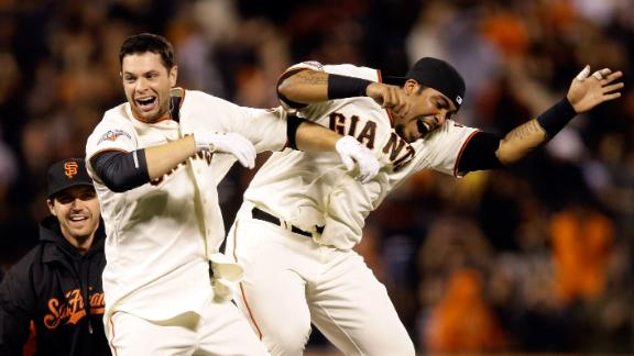 Video - Belt, Giants Walk Off