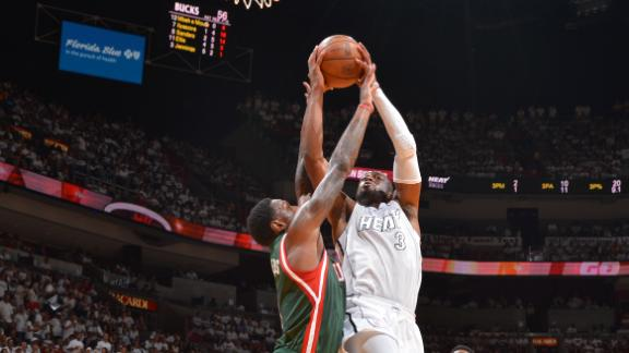 Heat pull away from Bucks, take 2-0 lead