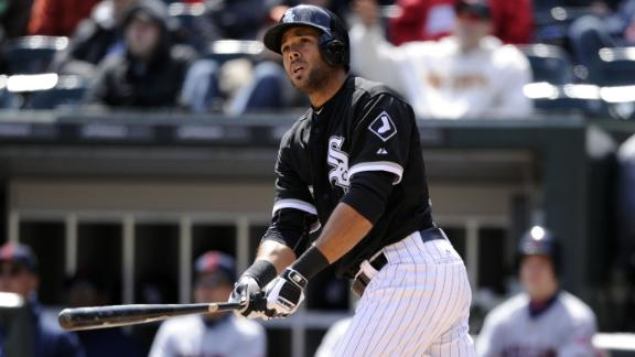 Rios HR helps White Sox snap 4-game skid