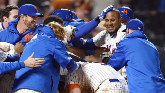 Mets top Dodgers on Valdespin's grand slam
