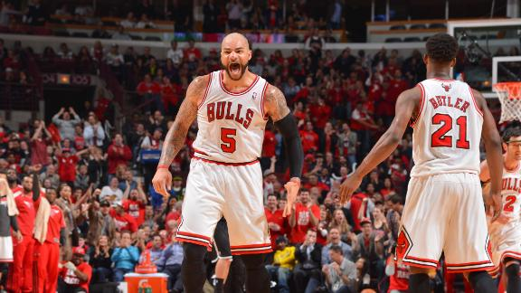 Video - Bulls Hold Off Nets To Take 2-1 Series Lead