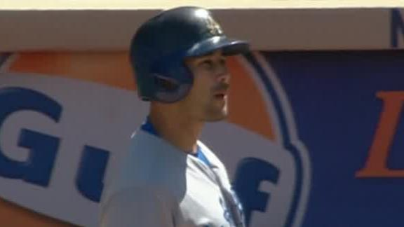 Ethier, Dodgers rally in ninth to beat Mets