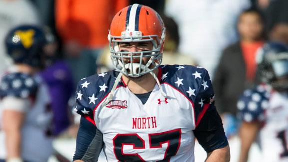 Video - Giants Select Justin Pugh