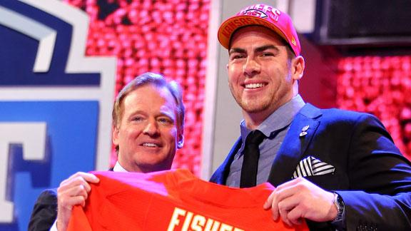 Video - Chiefs Select Eric Fisher