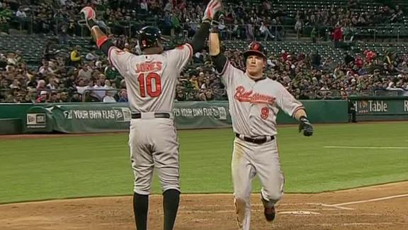 Video - Orioles Crush A's 10-2
