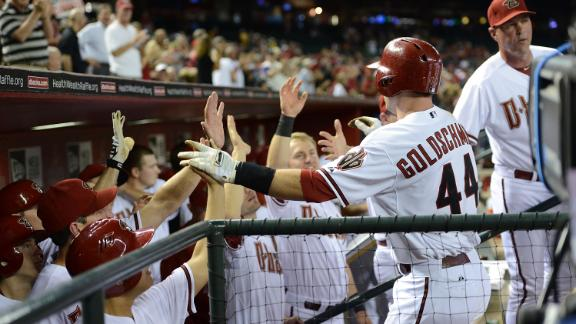 Video - Goldschmidt, Cahill Fuel Diamondbacks
