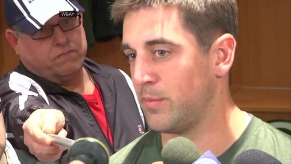 Video - Rodgers Thankful For Extension