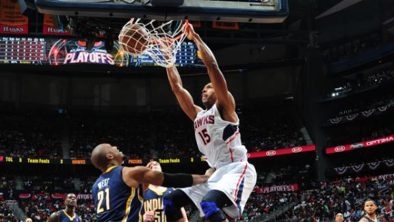 Horford leads Hawks to Game 3 rout of Pacers