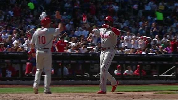 Video - Phillies Use Five-Run Fifth To Top Mets