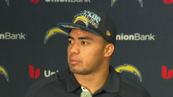 Video - Manti Te'o Introduced As Charger