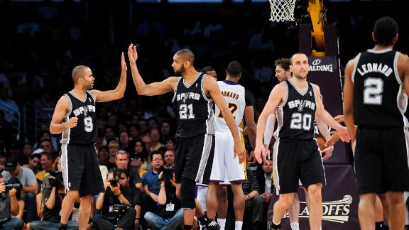 Video - Spurs Sweep Lakers