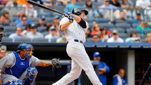 Overbay's HR lifts Yankees to sweep of Jays