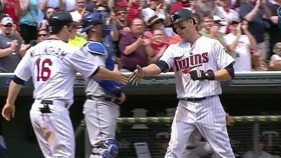 Video - Twins Blank Rangers