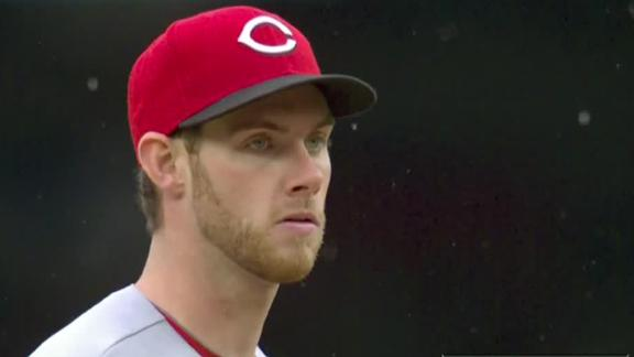 Video - Rookie Pitcher Lifts Reds Past Nationals