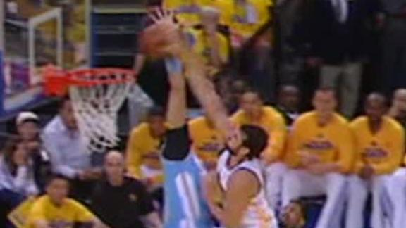 Video - Bogut Plows By McGee