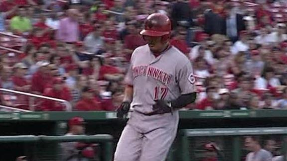 Video - Reds Edge Cardinals