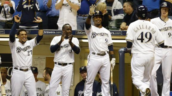 Video - Brewers Overpower Pirates