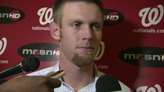 GM: Strasburg's arm OK, expected to start