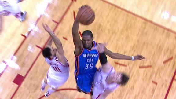 Video - Durant Blows By Rockets