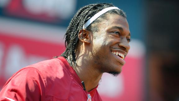 RG III: Playing through injury was 'mistake'