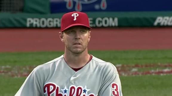 Video - Halladay Hit Hard By Indians