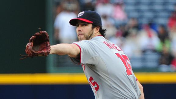 Video - Haren, Nationals Shut Down Braves