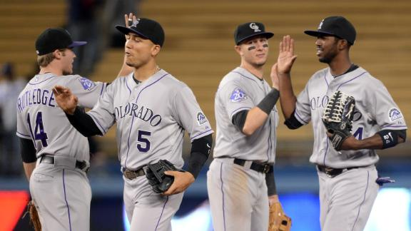Video - Rockies Fend Off Dodgers