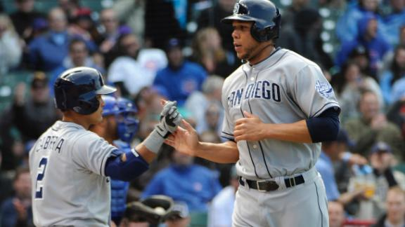Video - Padres Rally In 8th To Beat Cubs