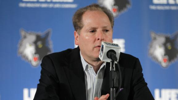 Video - Kahn Out As Timberwolves President