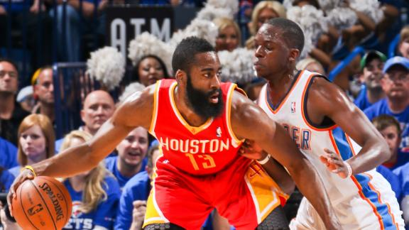 Video - Harden Fuels Rockets In Game 5 Win