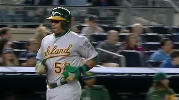 Video - A's Blank Yankees