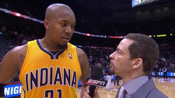 Video - David West After The Pacers Advance