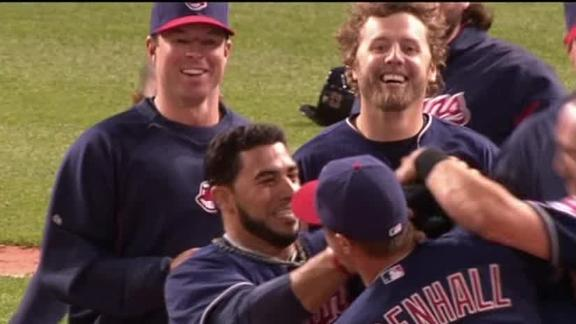 Video - Indians Walk Off In The 10th