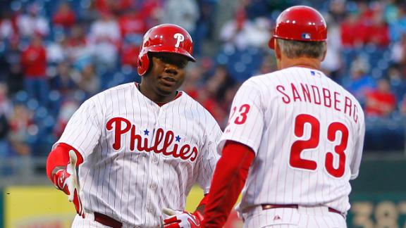 Video - Howard, Utley Power Phillies