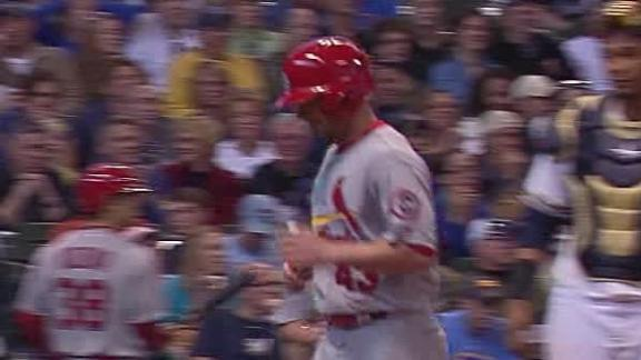 Video - Jay Lifts Cardinals Past Brewers