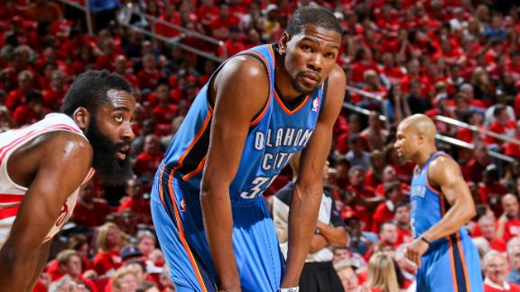 2013 NBA playoffs: Oklahoma City Thunder get by Houston Rockets