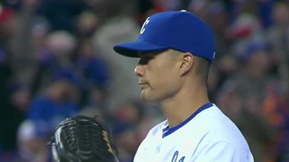 Video - Guthrie, Royals Shut Out White Sox