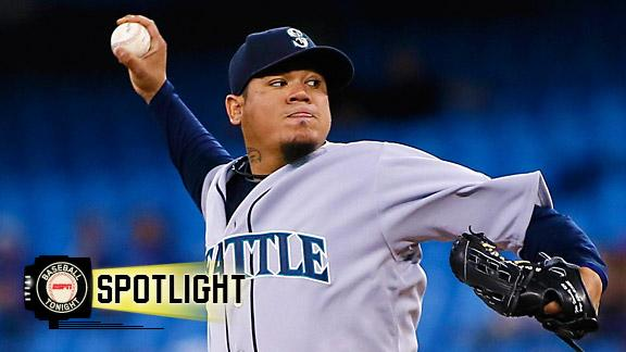 Video - King Felix Shuts Down Blue Jays