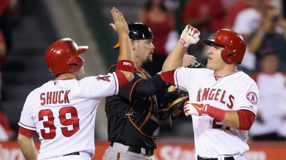 Video - Angels Blank Orioles