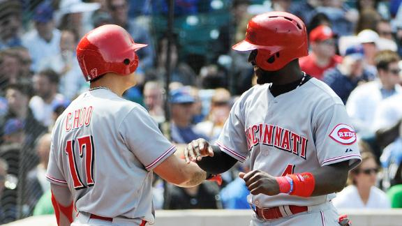 Frazier, Mesoraco rally Reds past Cubs in 8th