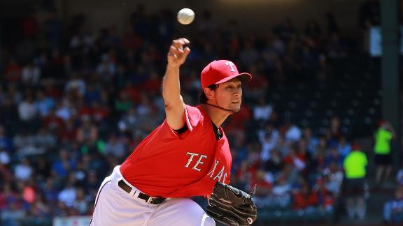 Darvish K's 14 as Rangers sweep Red Sox