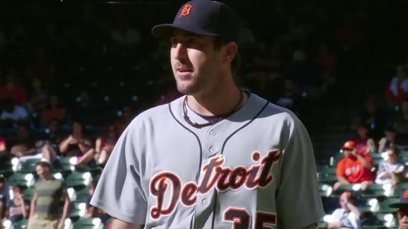 Verlander, Tigers romp by Astros for sweep