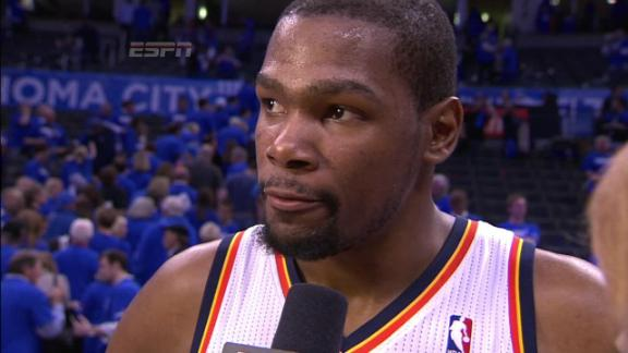 Video - Durant Comes Up Big In Game 1