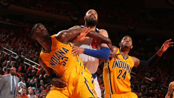 Pacers easily hold on to win Game 1 vs. Knicks