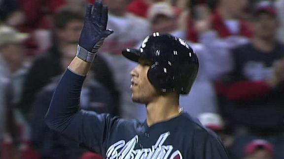 Video - Simmons Powers Braves Past Reds