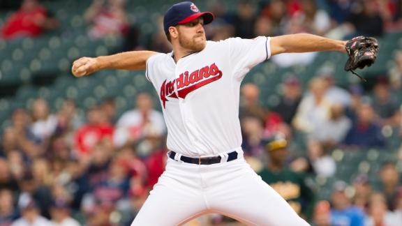 Video - Indians Blank A's