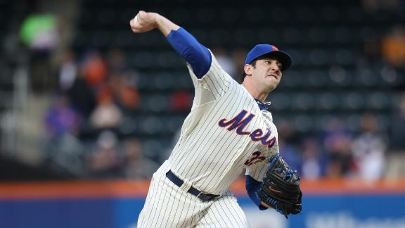 Harvey allows 1 hit, then Mets walk off in 10