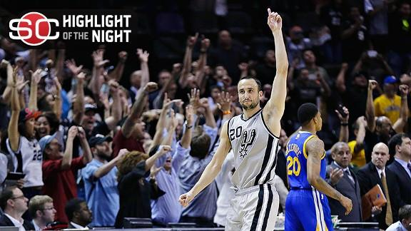 Video - Spurs Steal Game 1 In 2OT