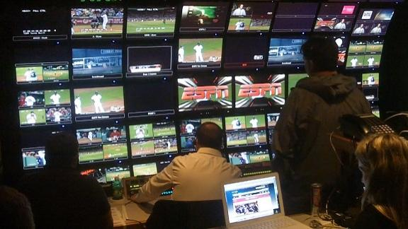 Video - Inside the ESPN Production truck
